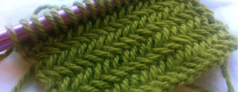 Knitting Patterns New Stitch A Day : How to Knit The Horizontal Herringbone Stitch :: Knitting Stitch #5 NEW STI...