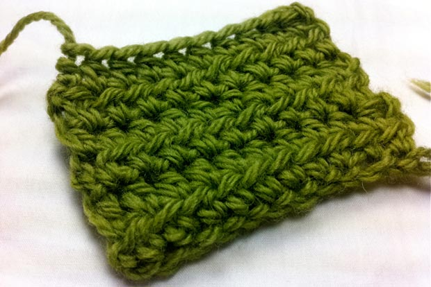 Example of the Half Double Crochet