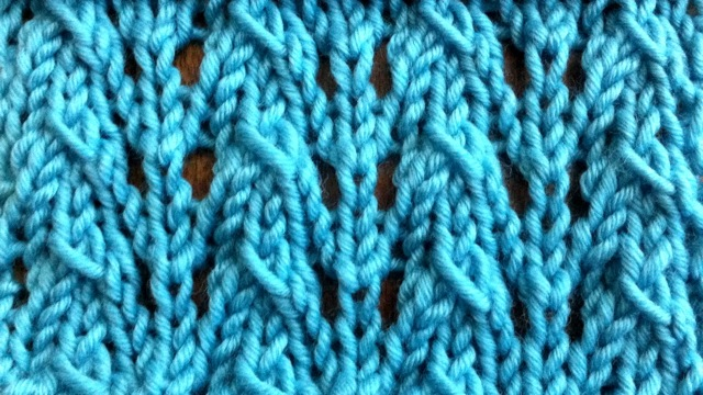 Knitting Patterns New Stitch A Day : How to Knit the Little Fountain Lace Stitch NEW STITCH A DAY