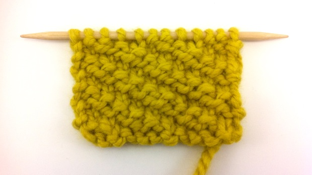 Example of the Oblique Rib Stitch