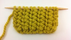 Example of the Purse Lace Stitch