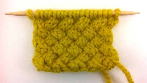 Knitting Patterns New Stitch A Day : Cables & Arans 8/9 NEW STITCH A DAY