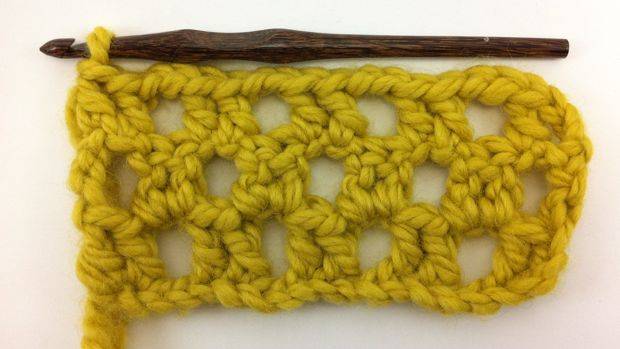 Example of the Crochet Box Stitch