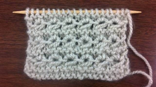 Example of the Little Crown Stitch