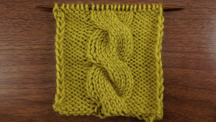The Chunky Cable Stitch :: Knitting Stitch #64