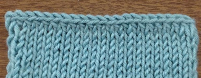 Example of the Decrease Bind Off