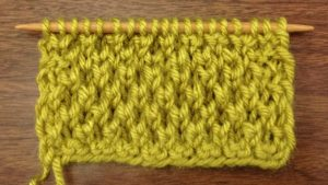 Example of the Bee Stitch