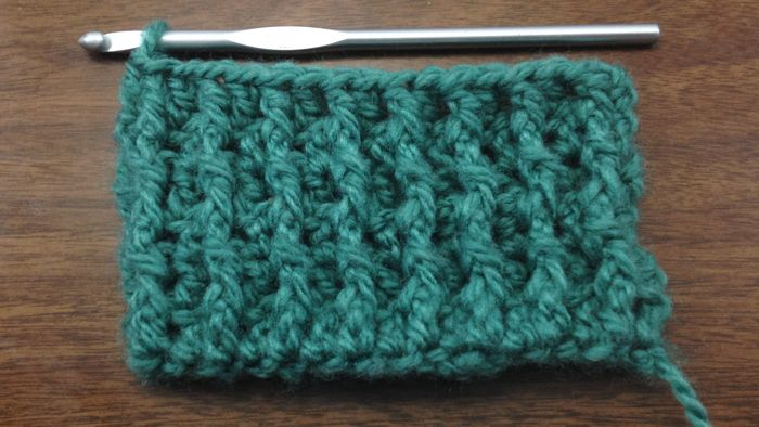 Learn how to Crochet the Back Post Double Crochet Stitch