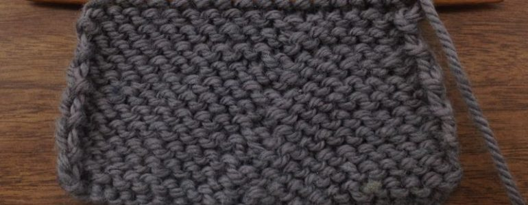 Knitting Stitches Tbl : How to Knit the Slip Slip Purl Through the Back Loop (SSP TBL) NEW STITCH A...