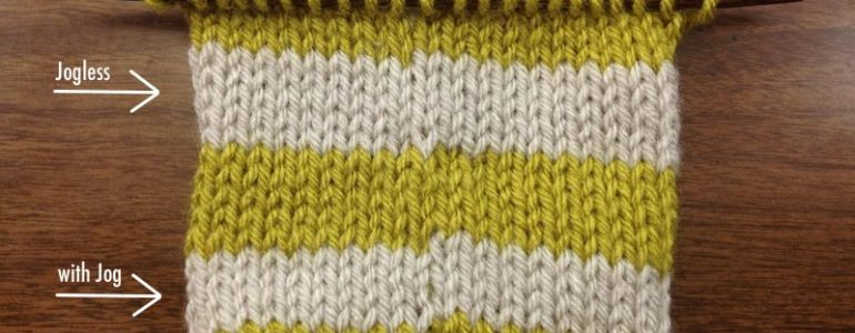 Example of a stripe with color jog and a jobless stripe