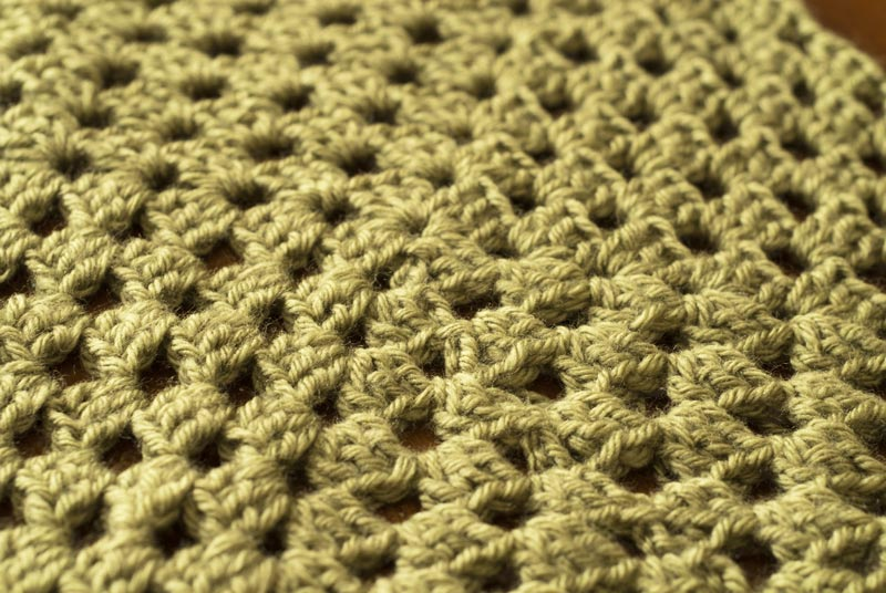 New Stitch a Day February Afghan CAL Square Up Close