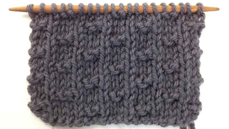 How to Knit the Double Alternate Andalou Stitch