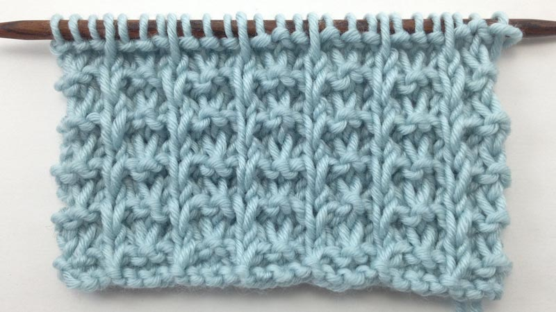 How to Knit the Whelk Stitch