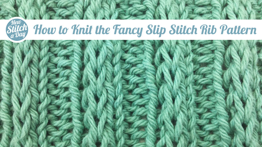 Easy Fancy Knitting Stitches : May 2012 Archives NEW STITCH A DAY