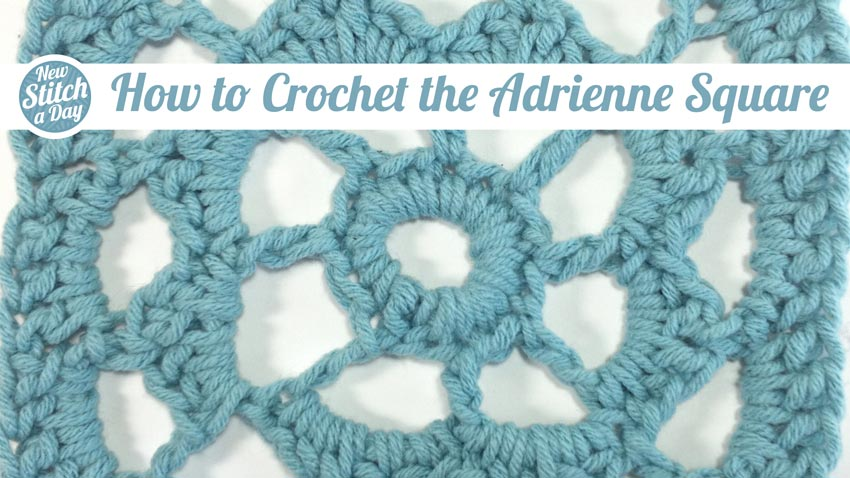 How to Crochet the Adrienne Square