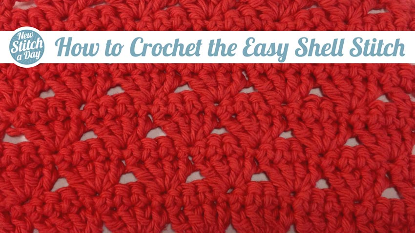 How to Crochet the Easy Shell Stitch