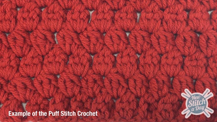 The Puff Stitch :: Crochet Stitch #4 :: New Stitch A Day