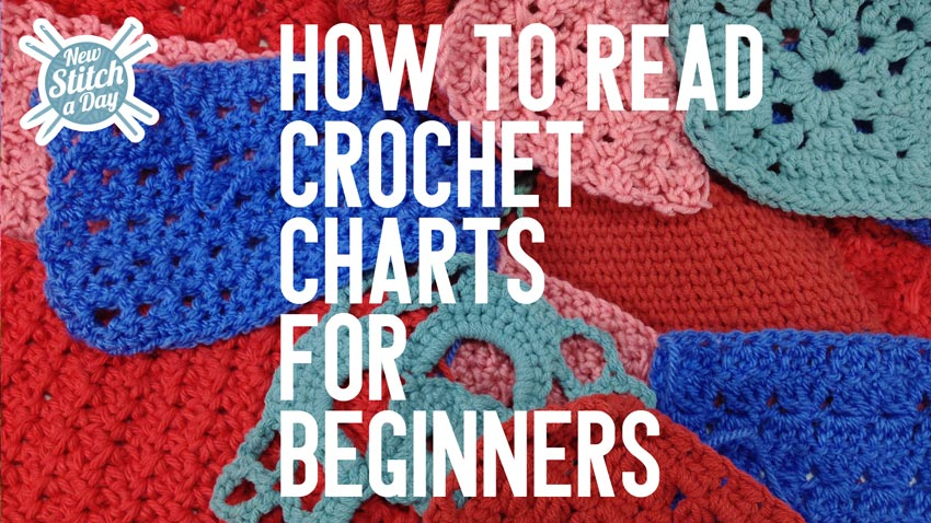How to Read Crochet Charts for Beginners by New Stitch a Day