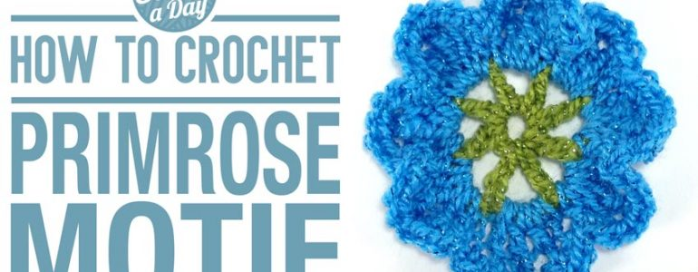 How to Crochet the Primrose Motif