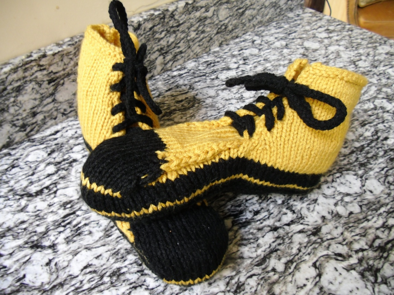 Lawrence Greene Knitted Shoes