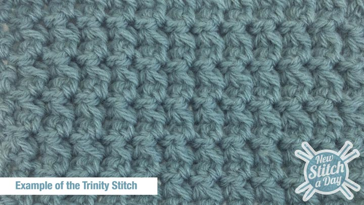 Example of the Trinity Stitch