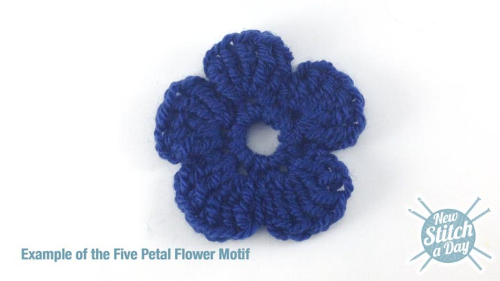 Example of the Five Petal Flower Motif