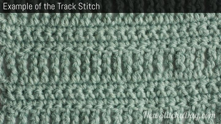 Example of the Track Stitch