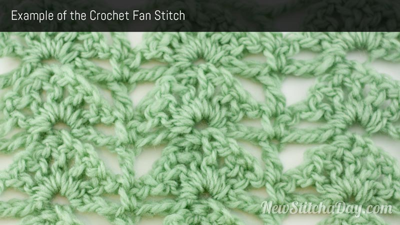 Example of the Fan Stitch
