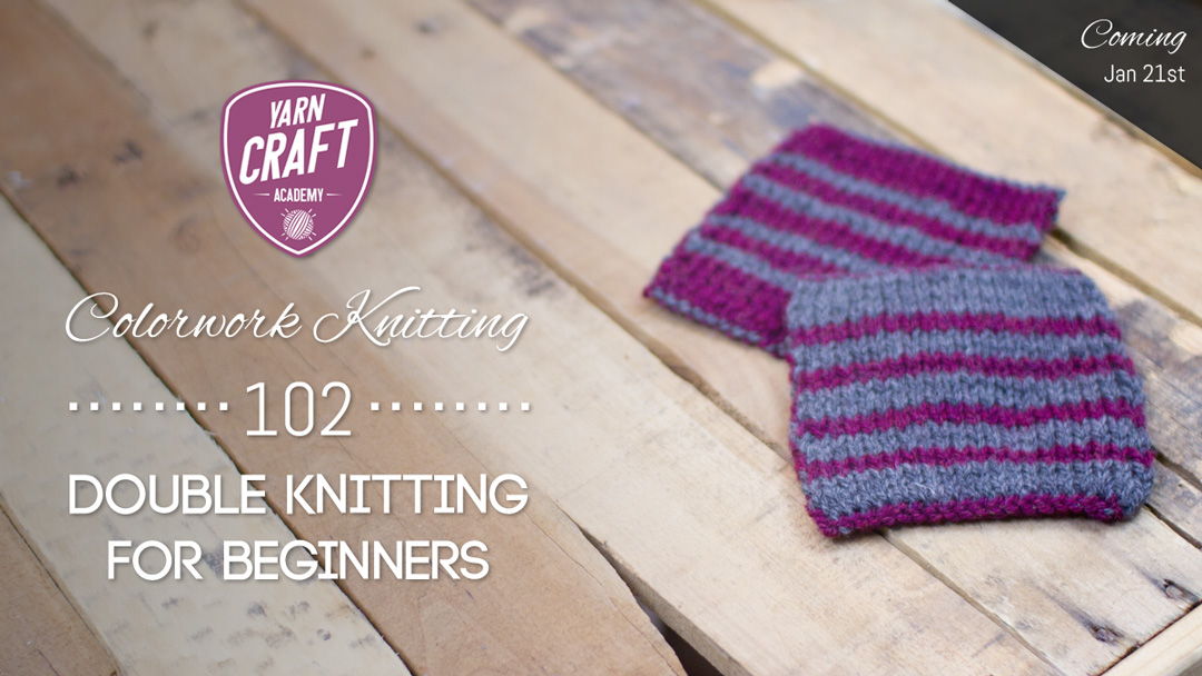 Colorwork Knitting 102: Double Knitting for Beginners