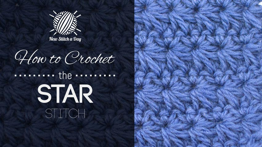 Crochet Star Stitch Hat Free Pattern : The Star Stitch :: Crochet Stitch #92