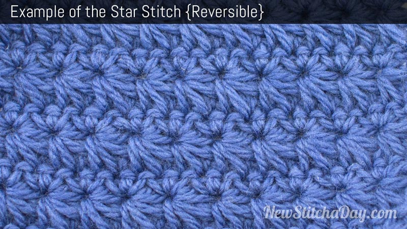 Example of the Star Stitch