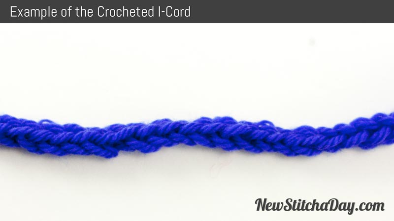 Example of Crocheted I-Cord