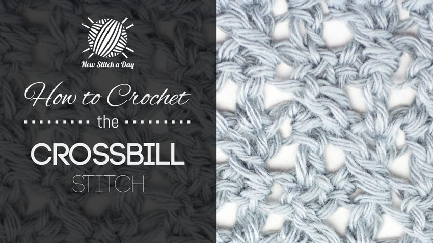 How to Crochet the Crossbill Stitch