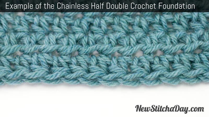 Half Double Crochet : Go Back > Gallery For > How To Half Double Crochet