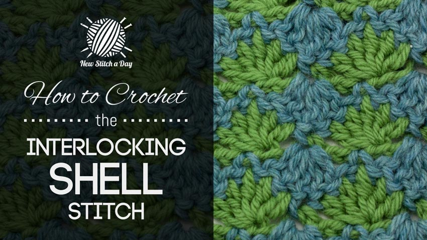 How to Crochet the Interlocking Shells Stitch