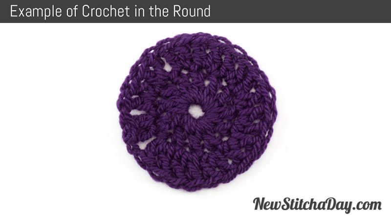Example of Crochet in the Round