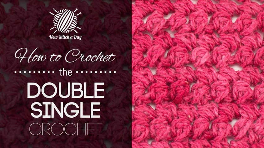 Single Crochet V Stitch Dishcloth Pattern Pictures to pin on Pinterest