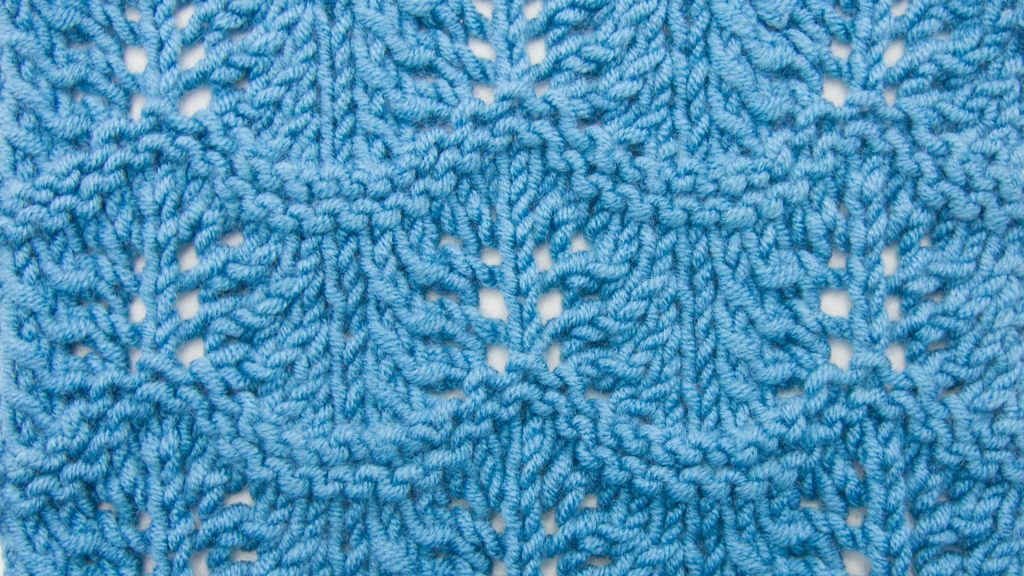 The Crest of the Wave :: Knitting Stitch :: New Stitch a Day