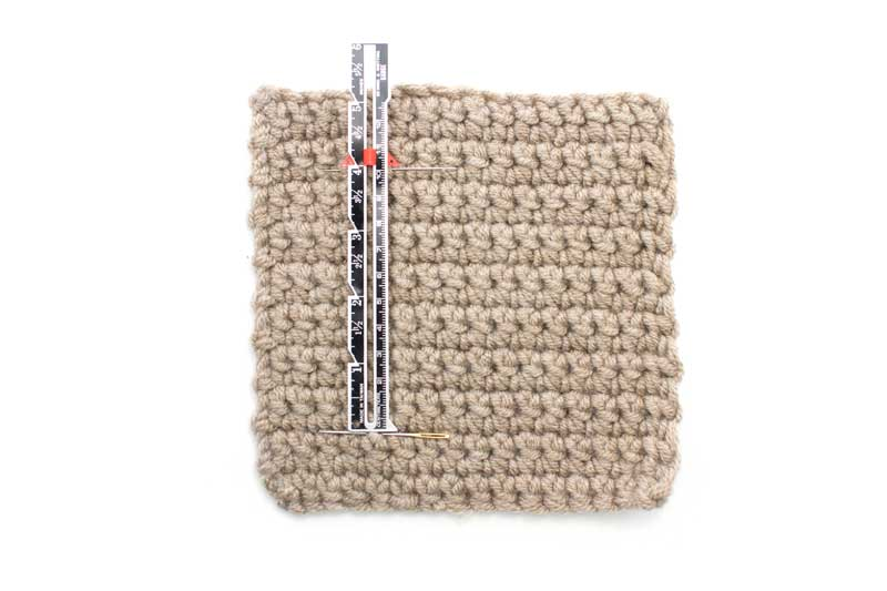 Crochet Gauge : Measuring Crochet Gauge :: Crochet :: New Stitch a Day
