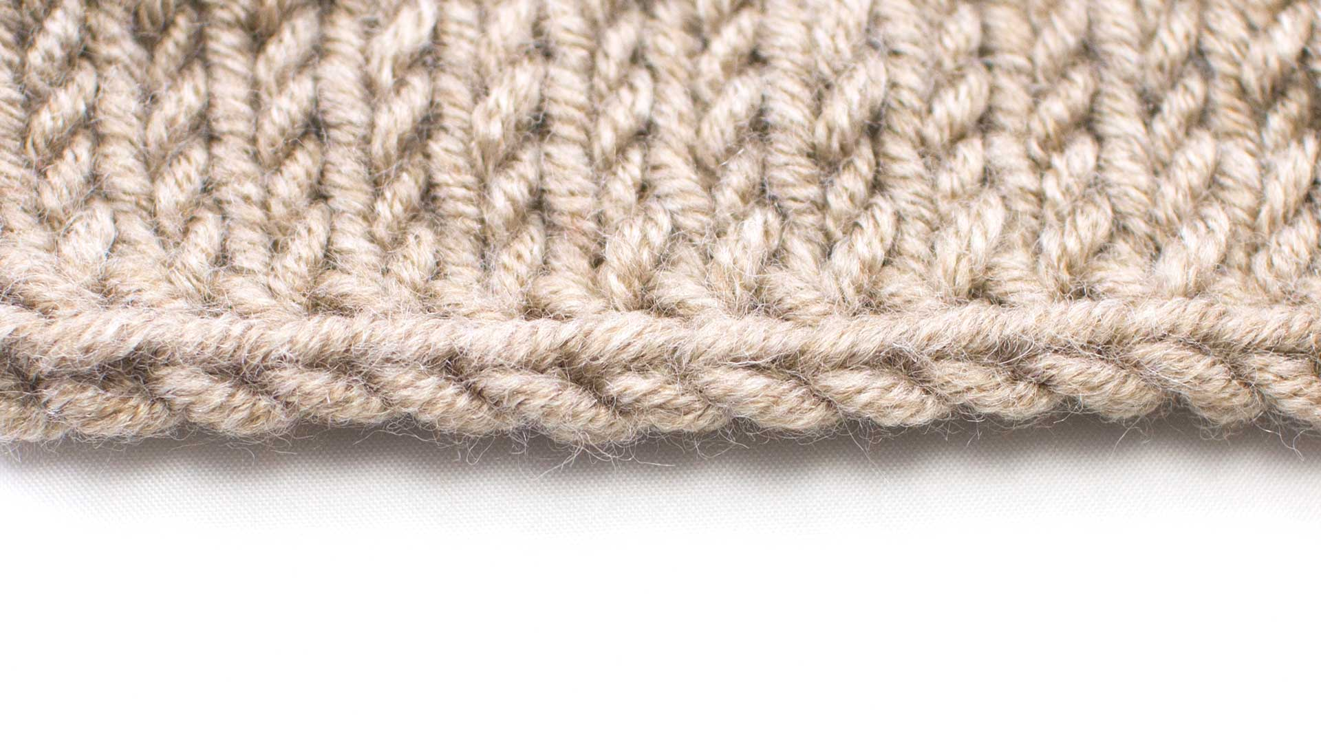 Bind Off In Pattern :: Knitting Bind Off #3 :: New Stitch a Day
