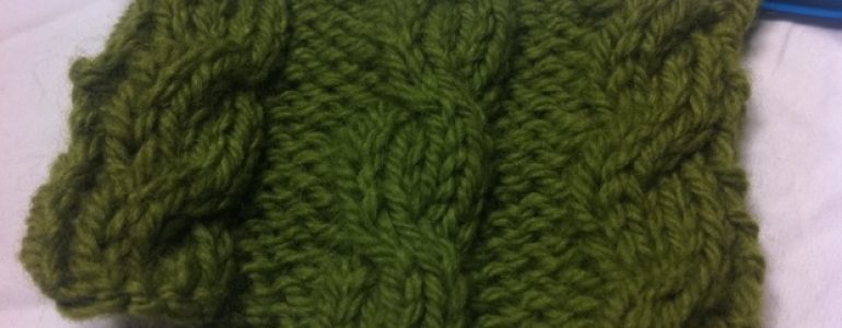 Example of the 4 stitch cable