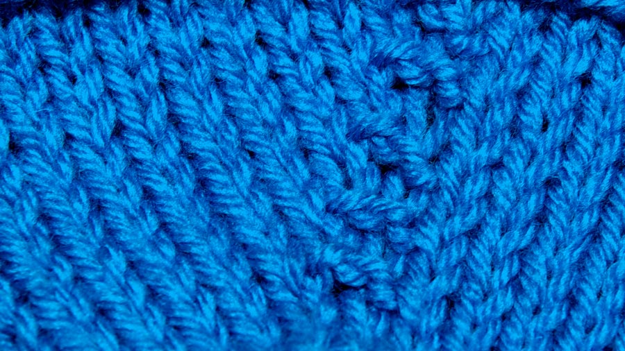 Knitting Help Increases : How to knit the purl one front and back increase pfb