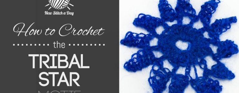 How to Crochet the Tribal Star Motif